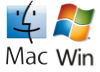 Windows logo en Mac logo